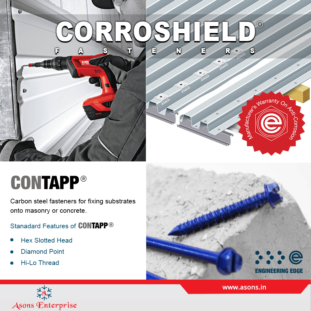 Fixing of corrugated board with self-tapping screws on the roof: correct technology and features